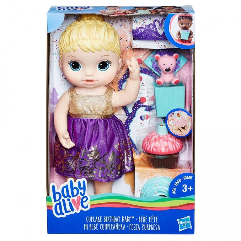 Narodeninová bábika Baby Alive 32cm
