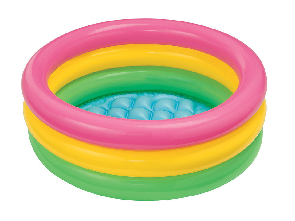 Intex 58924 Nafukovací detský bazén 3kruhy 86x25cm