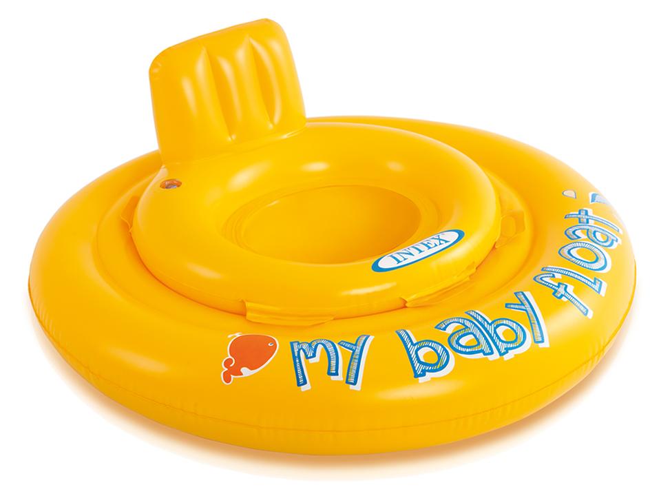 INTEX 56585 Baby kruh so sedátkom 70cm