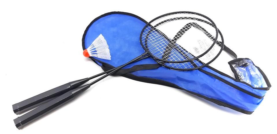 Badminton set 2 rakety s košíkom