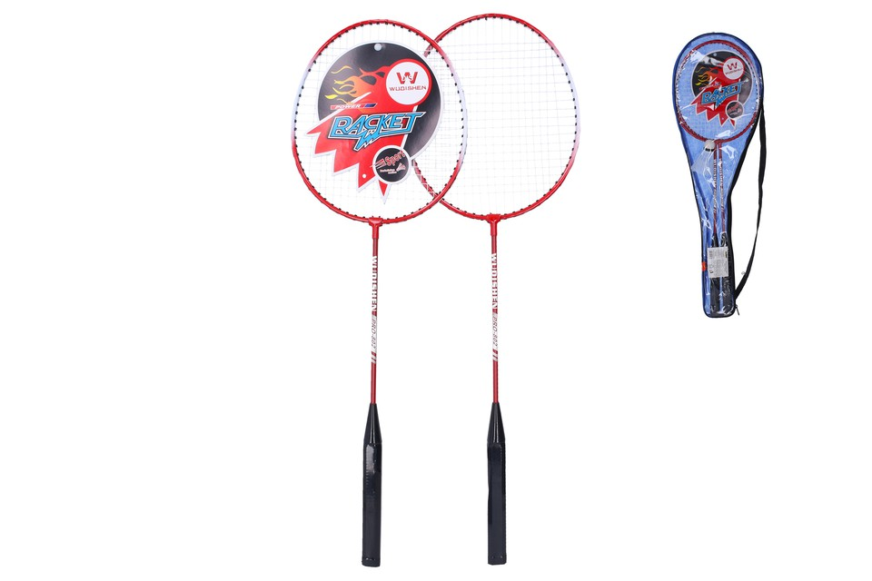 Badminton sada 2rakety a košík