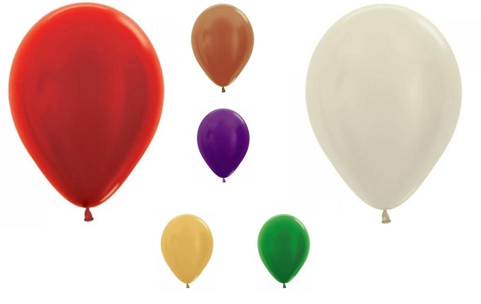 Perleťové balóniky Sempertex 30cm