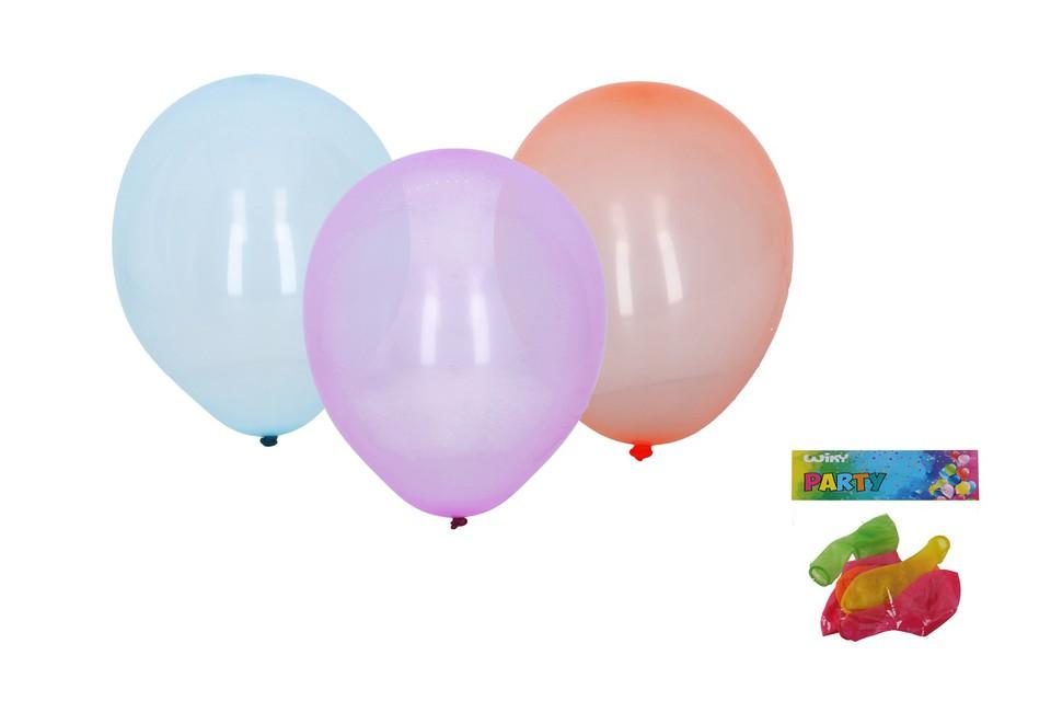 Balóny kryštálové 30cm/5ks