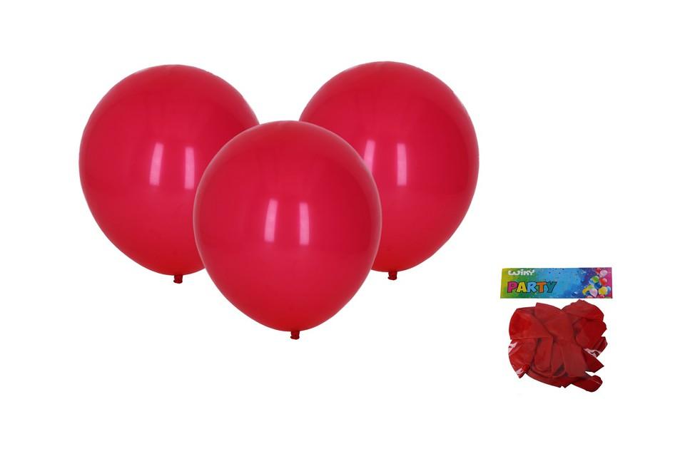 Balóny červené 30cm/10ks