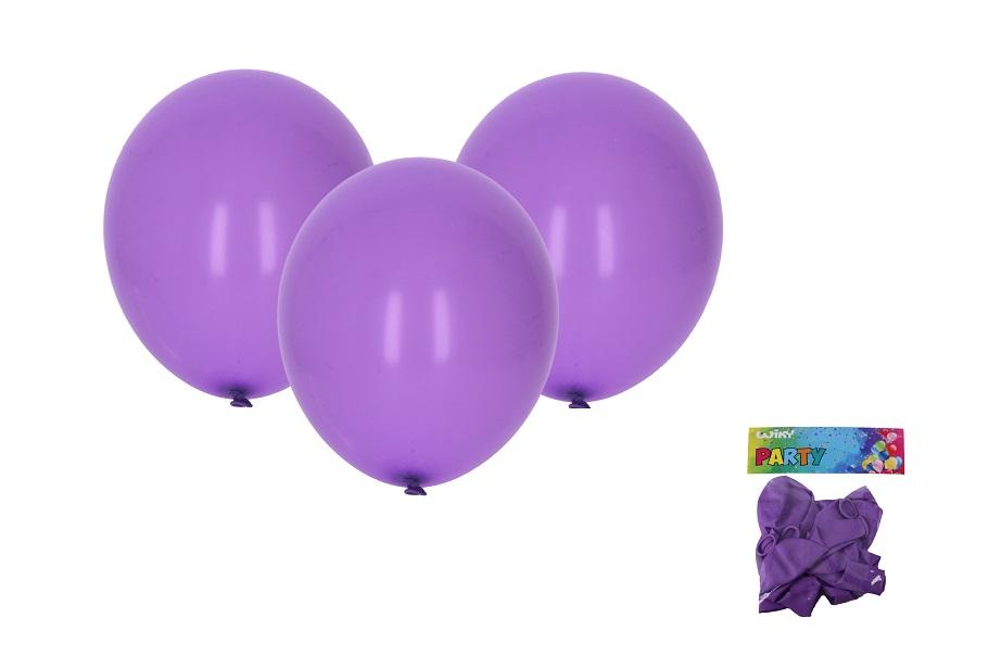 Balóny fialové 30cm/10ks