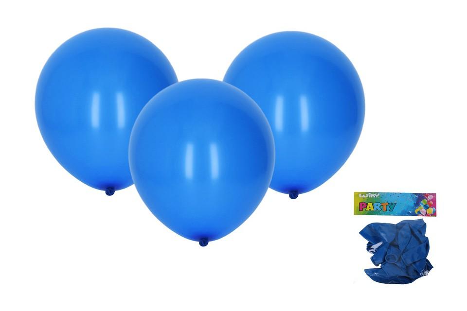 Balóny modré 30cm/10ks