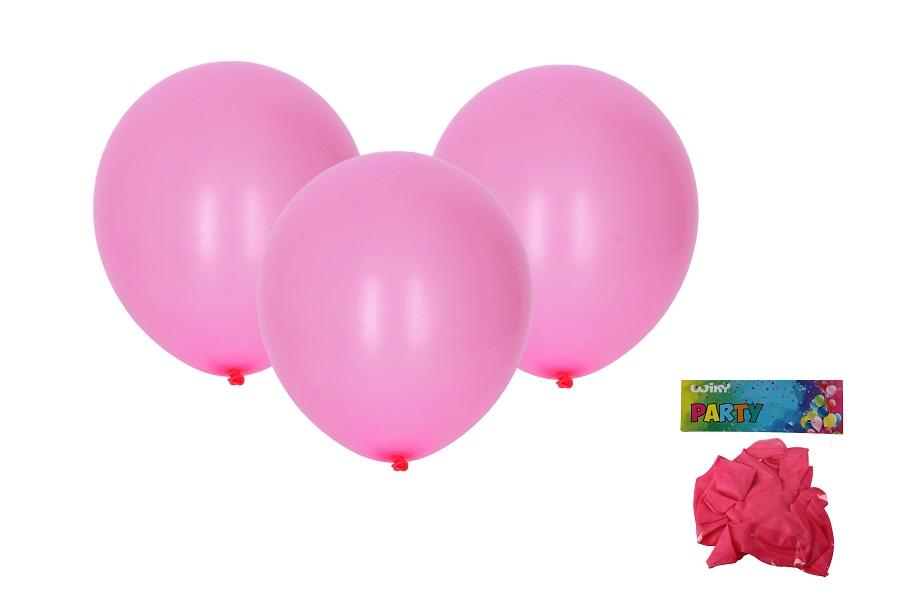 Balóny ružové 30cm/10ks