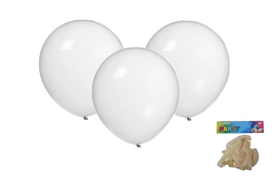 Balóny transparentné 30cm/10ks