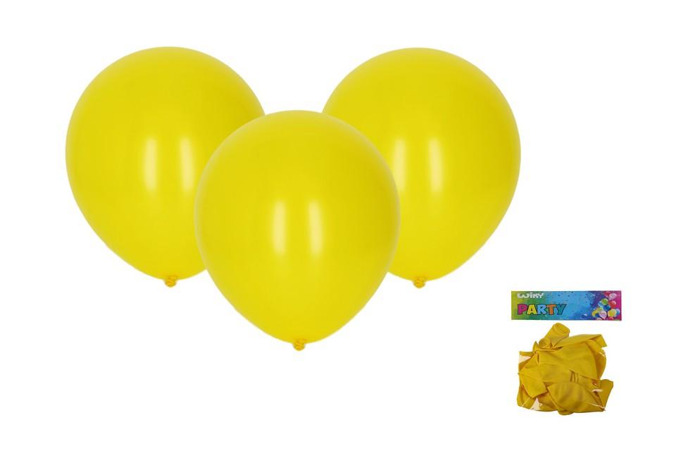 Balóny žlté 30cm/10ks