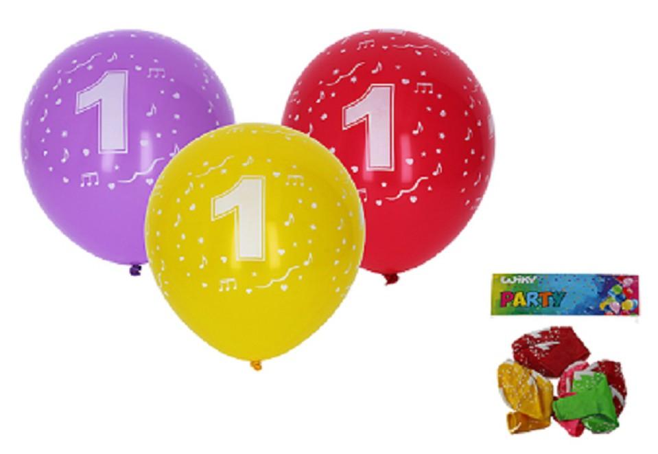 Balóny s číslom 1./5ks