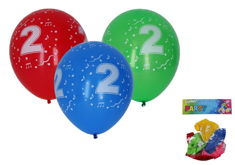 Balóny s číslom 2./5ks