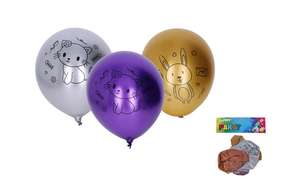 Balóny Zvieratká 30cm/5ks