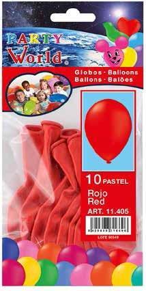 Balóny - Červené 10ks
