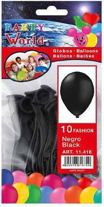 Balóny čierne 10ks
