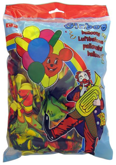 Dúhové balóny 100ks