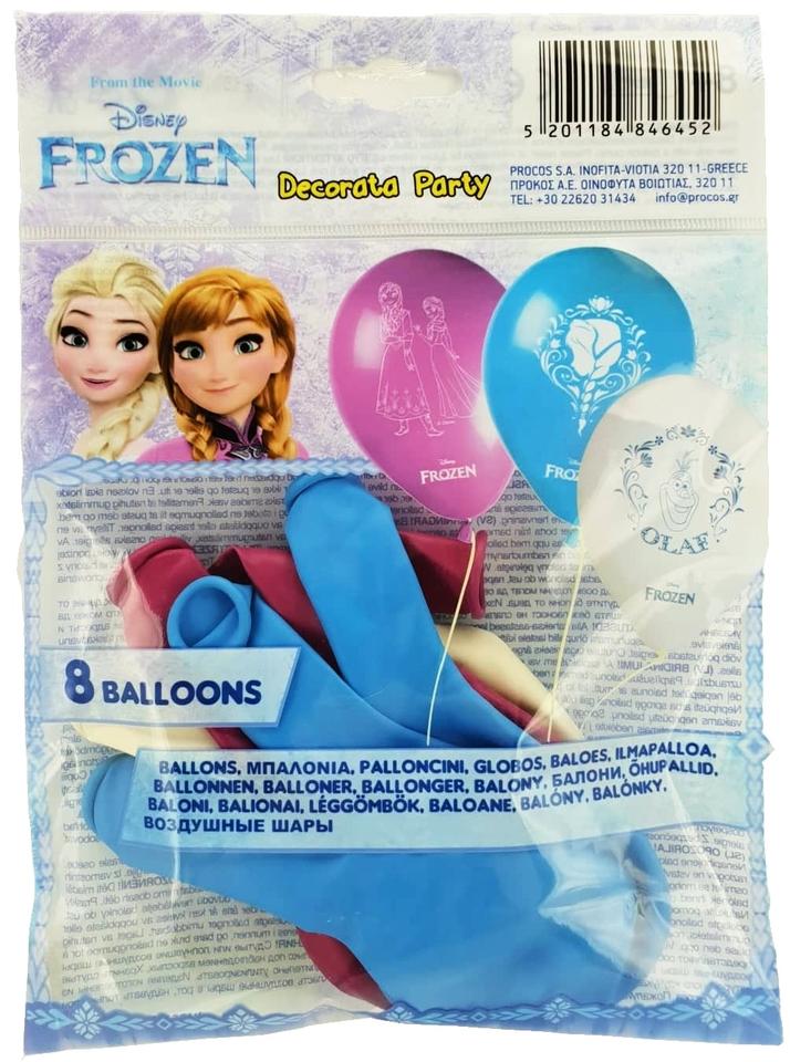 Balóny Frozen 8ks