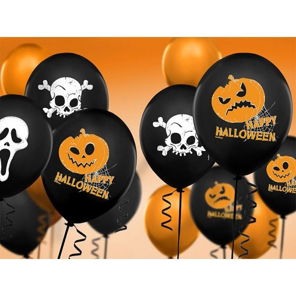 Balóny Halloween 8ks