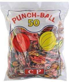 Balóny lopta na gumičke 50ks