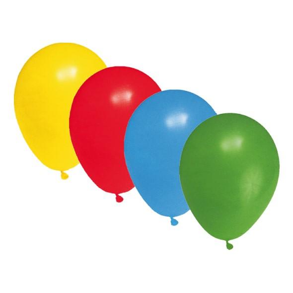 Balóny M mix farieb 100ks