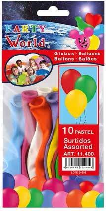 Balóny mix farieb 10ks