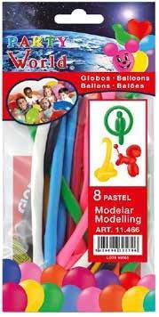 Balóny modelovacie 8ks