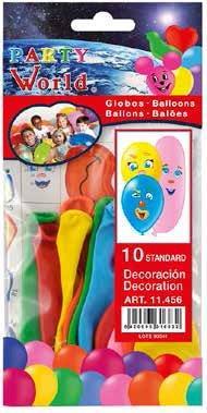 Balóny s nálepkami 10 ks