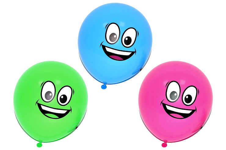 Balóny Oči 30cm/10ks