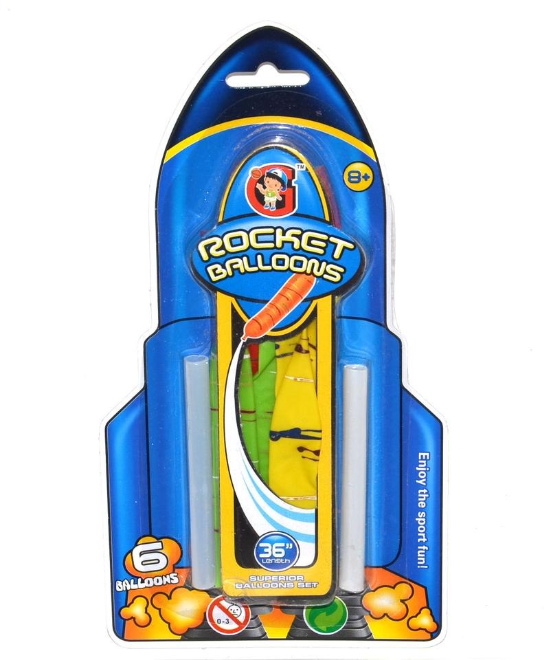 Balónová - Raketa set