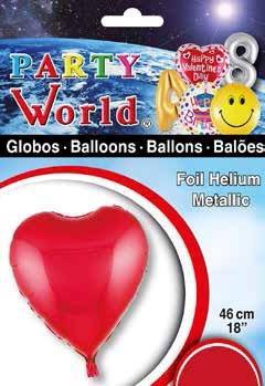 Balóny srdce 46cm
