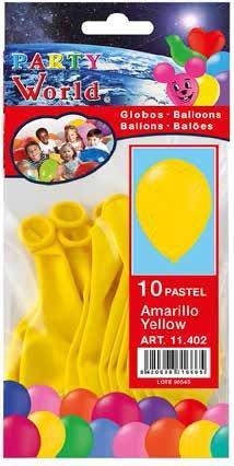 Balóny žlté 10ks