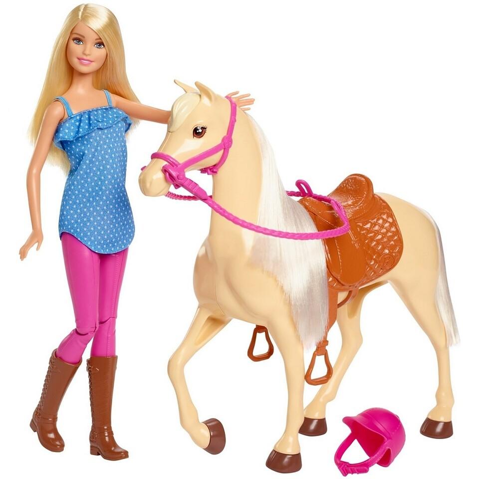 Mattel Barbie bábika s koníkom