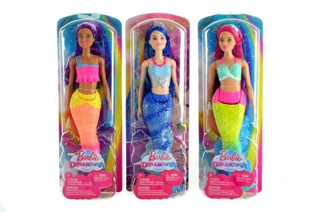 Barbie Dreamtopia - morská panna 30cm