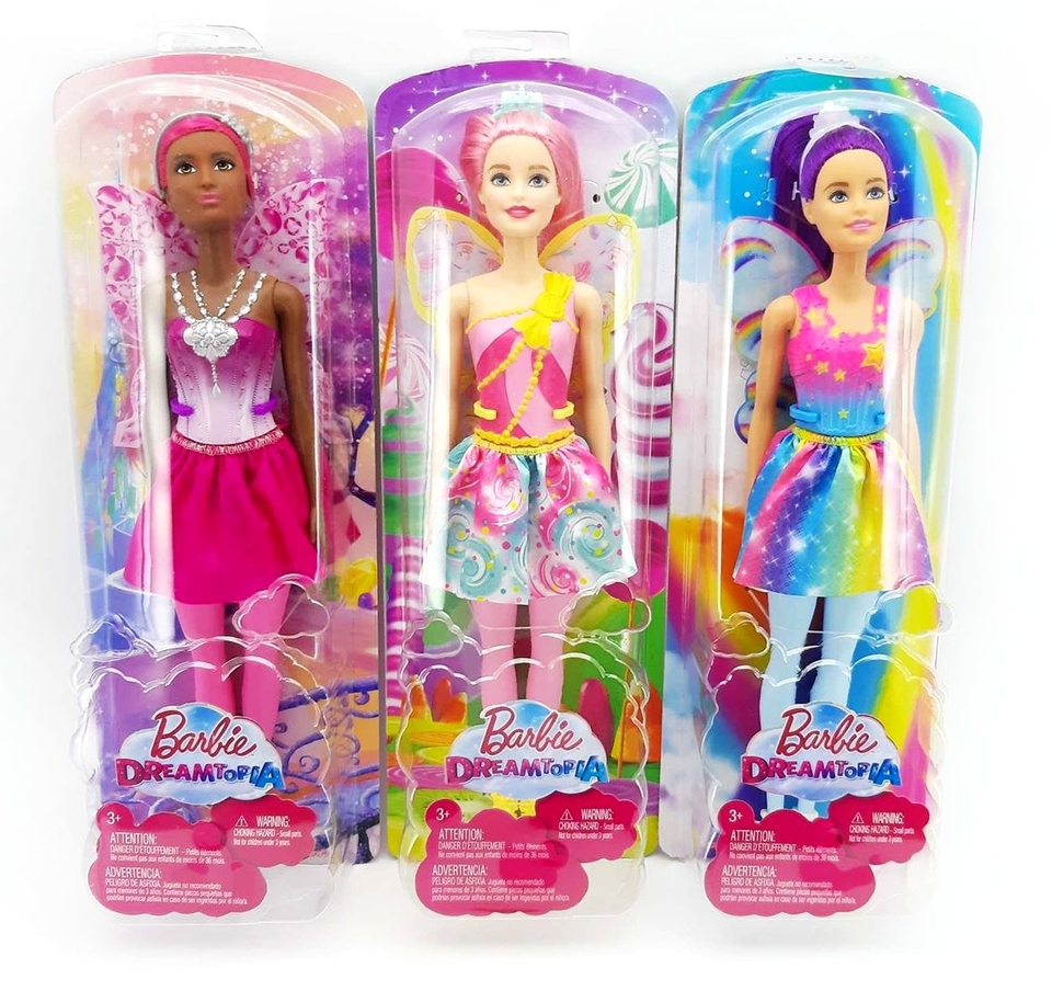 Barbie Dreamtopia - víla 32cm