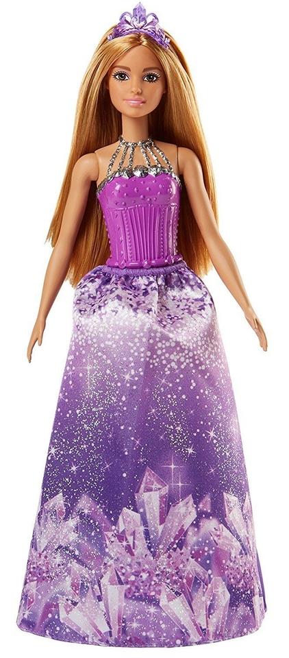 Mattel Barbie Dreamtopia vo fialovýchšatách