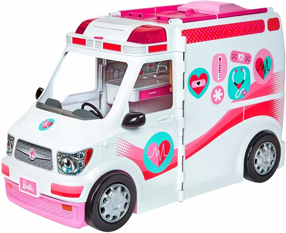 Mattel Barbie pojadzdná klinika