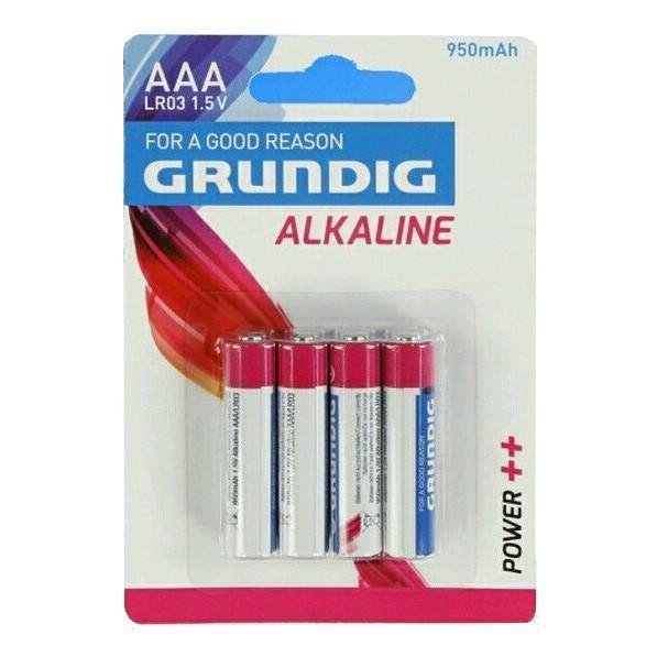 Batérie alkalické AAA 4KS