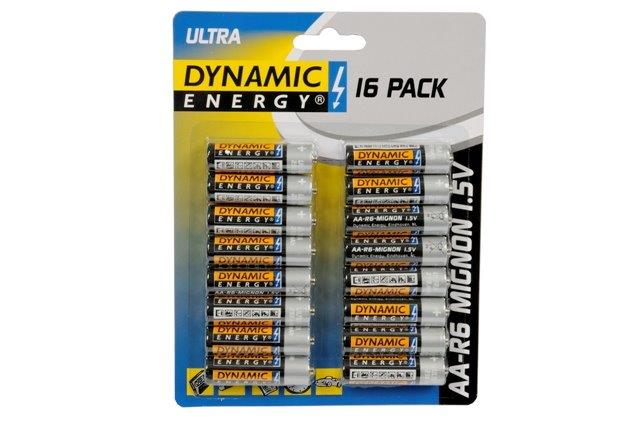 Batérie DYNAMIC AA 16ks