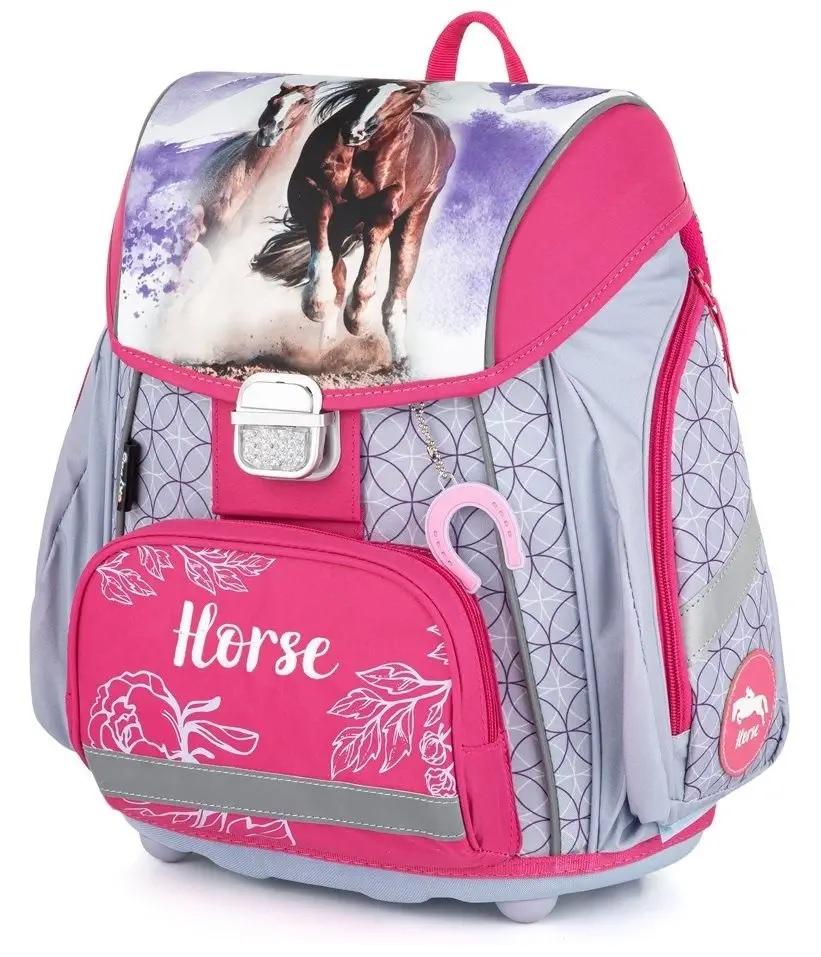 Anatomická školská taška Premium Kôň