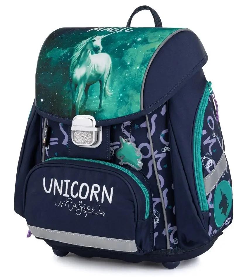 Anatomická školská taška Premium Unicorn 1