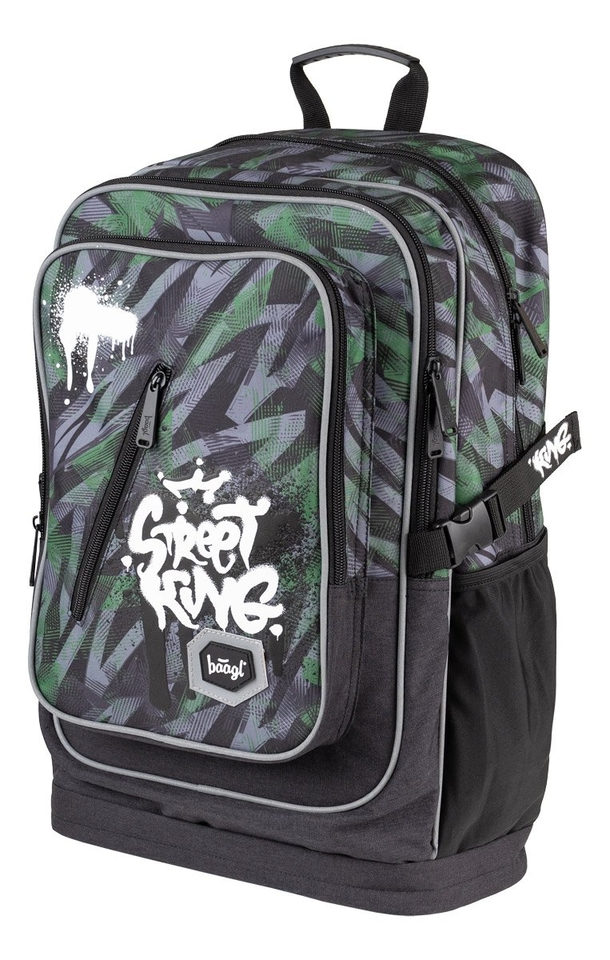Školský batoh Cubic Street King