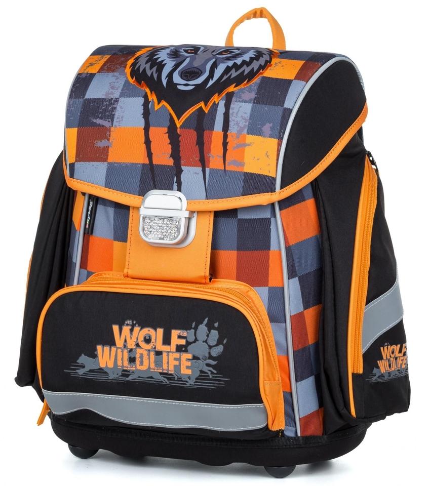 Anatomický batoh Premium Vlk