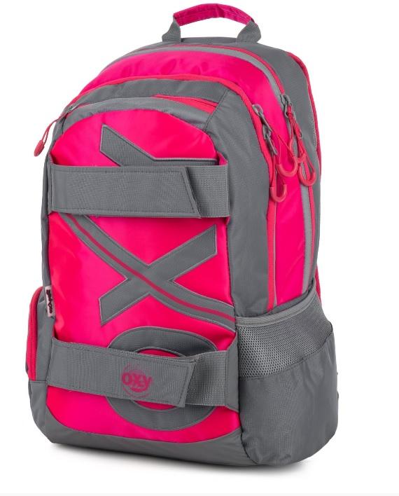 Študentský batoh OXY Šport NEON LINE Pink 46cm