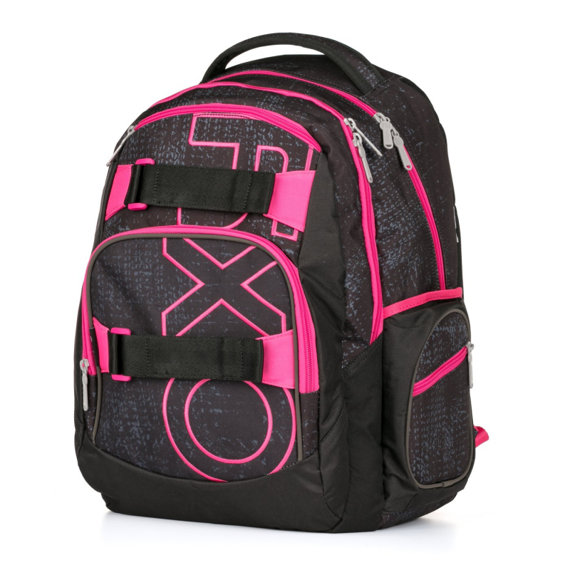Študentský batoh Oxy Style Dip Pink