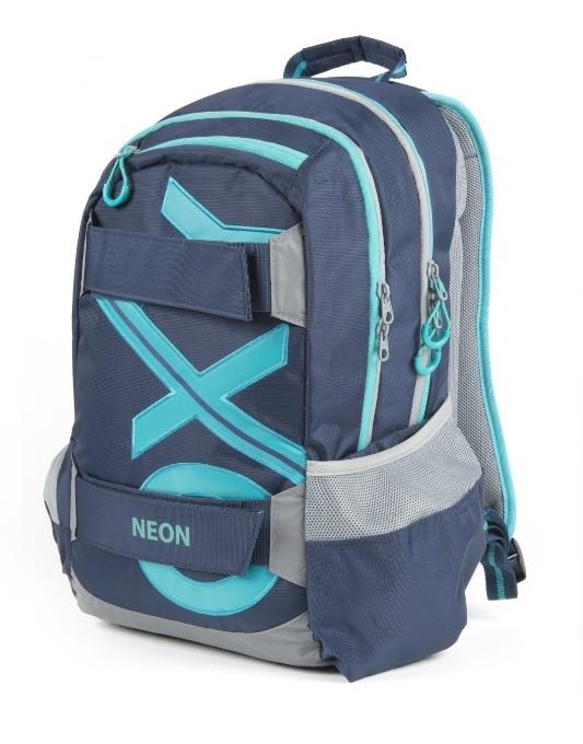Študentský batoh OXY Sport BLUE LINE Tyrkys 46cm