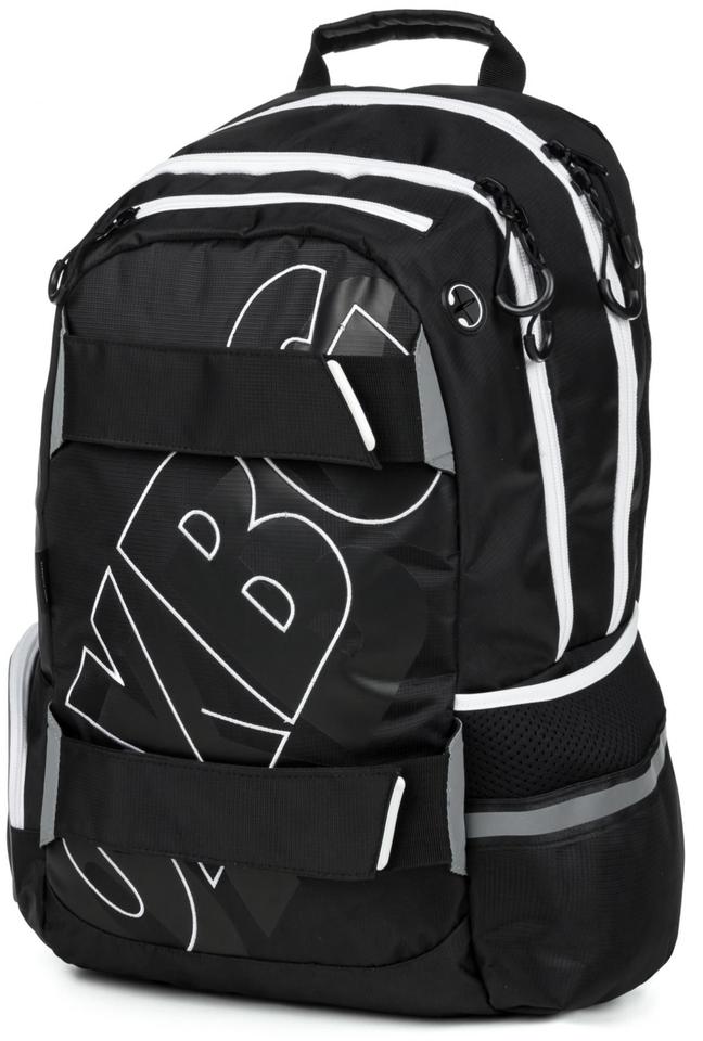 Anatomický batoh OXY SPORT Black Line white
