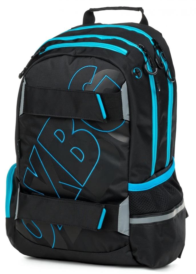 Anatomický batoh OXY SPORT Black Line blue