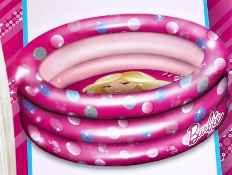 Nafukovací bazén Barbie 100 cm