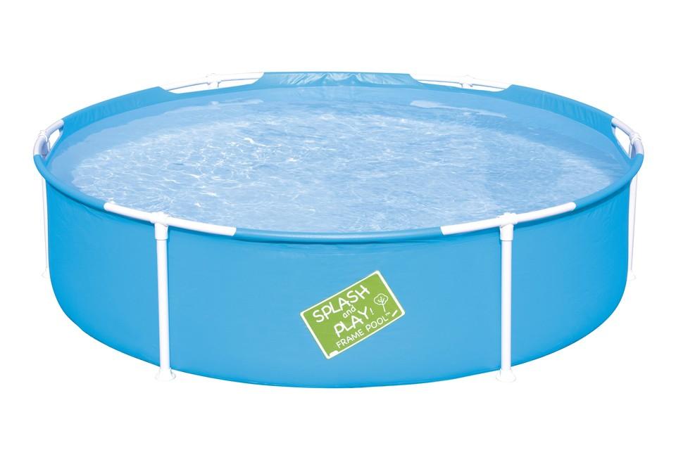 Bestway 56283 Bazén pre deti s kovovou konštrukciou Steel Frame Pool 152x38cm