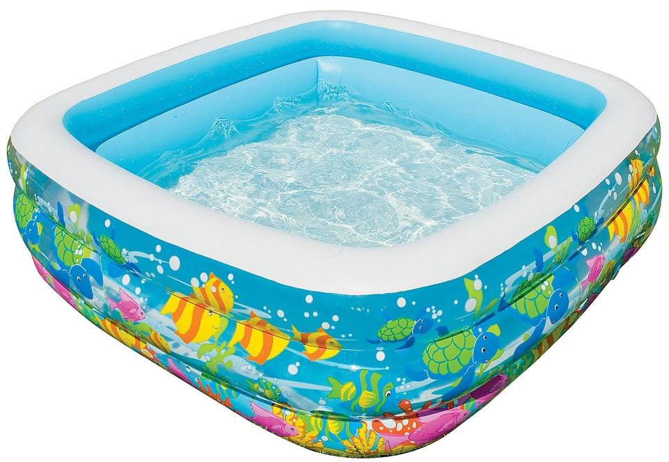 Intex 57471 Hranaté akvárium 159x159x50 cm