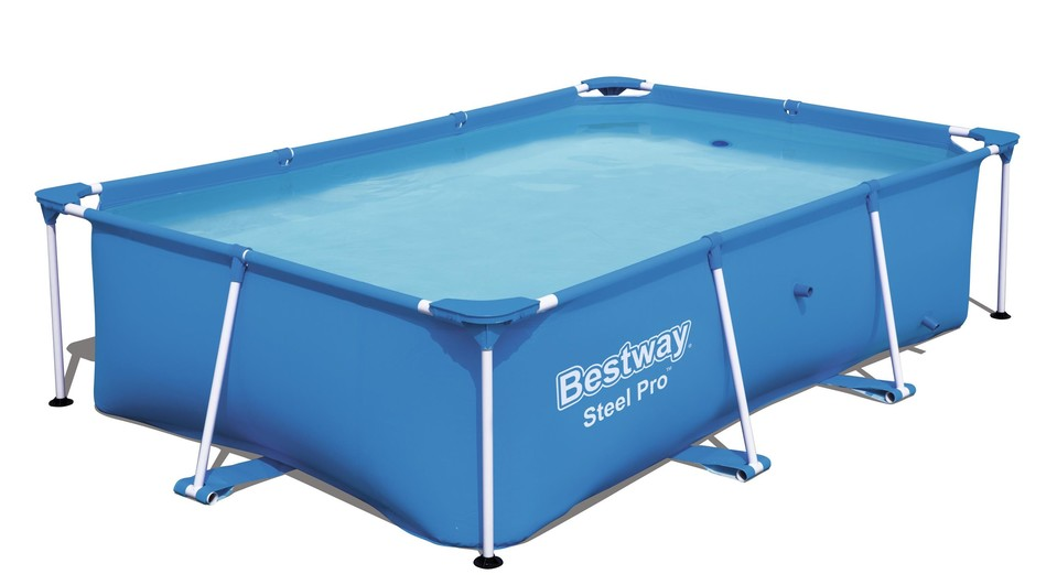 Bestway 56403 Steel Pro Frame bazén s konštrukciou, 259x170x 61cm